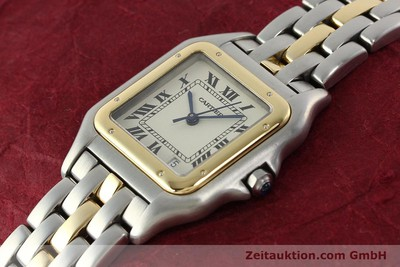 CARTIER PANTHERE ACIER / OR QUARTZ [142541]