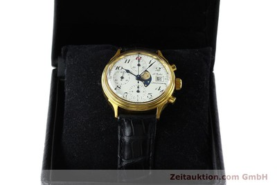 CHRONOSWISS A. ROCHAT CHRONOGRAPH GOLD-PLATED AUTOMATIC KAL. VALJ. 7750 [142551]