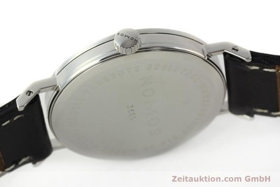 NOMOS TANGENTE STEEL MANUAL WINDING KAL. ETA 7001 LP: 1320EUR [142559]