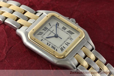 CARTIER PANTHERE ACIER / OR QUARTZ KAL. 87.06 LP: 7100EUR [142560]
