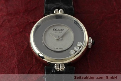 CHOPARD HAPPY DIAMONDS 18 CT WHITE GOLD MANUAL WINDING KAL. 2442 [142571]
