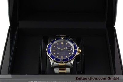 ROLEX SUBMARINER STEEL / GOLD AUTOMATIC KAL. 3135 LP: 10850EUR [142572]