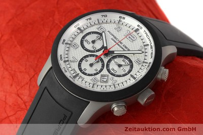 PORSCHE DESIGN DASHBORD CHRONOGRAPHE TITANE AUTOMATIQUE KAL. ETA 2894-2 LP: 4300EUR [142579]