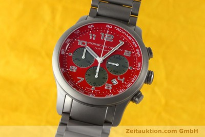 PORSCHE DESIGN DASHBORD CHRONOGRAPHE TITANE AUTOMATIQUE KAL. ETA 2894-2 LP: 4300EUR [142580]