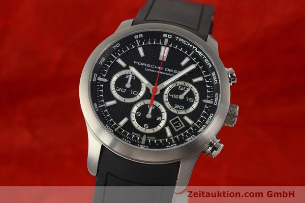 PORSCHE DESIGN DASHBORD CHRONOGRAPHE TITANE AUTOMATIQUE KAL. ETA 2894-2 LP: 4300EUR [142581]