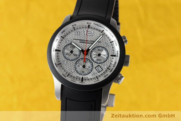 PORSCHE DESIGN DASHBORD CHRONOGRAPHE TITANE AUTOMATIQUE KAL. ETA 2894 LP: 4300EUR [142582]