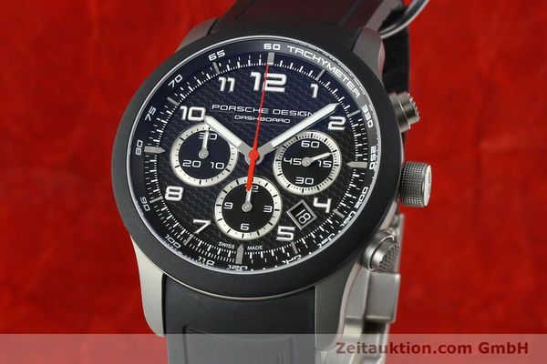 PORSCHE DESIGN DASHBORD CHRONOGRAPHE TITANE AUTOMATIQUE KAL. ETA 2894-2 LP: 4300EUR [142583]