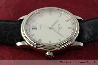 BLANCPAIN LEMAN 18 CT WHITE GOLD AUTOMATIC KAL. 6850 LP: 16320EUR [142593]