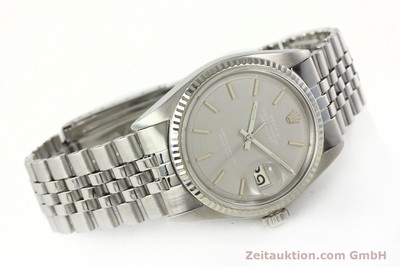ROLEX DATEJUST STEEL / WHITE GOLD AUTOMATIC KAL. 1570 LP: 6350EUR [142597]