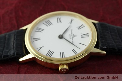 BAUME & MERCIER LADY 18K (0,750) RONDE GOLD DAMENUHR VP: 6300,- EURO [142604]