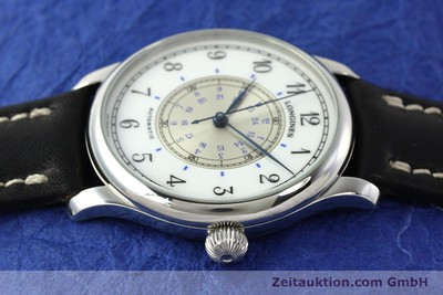 LONGINES WEEMS NAVIGATION WATCH STEEL AUTOMATIC KAL. L628.1 [142606]