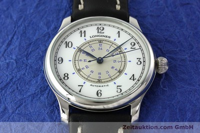 LONGINES WEEMS NAVIGATION WATCH ACIER AUTOMATIQUE KAL. L628.1 [142606]