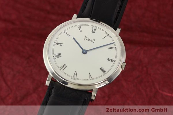 PIAGET ALTIPLANO ORO BIANCO 18 CT CARICA MANUALE KAL. 9P [142608]