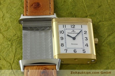 JAEGER LE COULTRE REVERSO STEEL / GOLD MANUAL WINDING KAL. 946/2 LP: 6250EUR [142612]