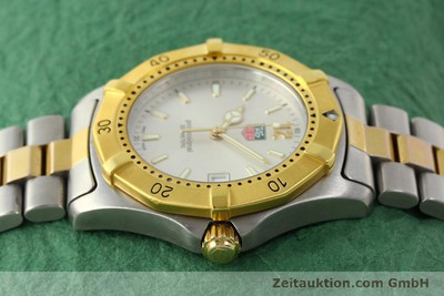 TAG HEUER PROFESSIONAL GILT STEEL QUARTZ KAL. 3.00 ETA 955.112 LP: 3550EUR [142613]