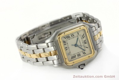 CARTIER PANTHERE STEEL / GOLD QUARTZ KAL. 83 LP: 7100EUR [142614]