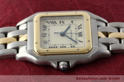 CARTIER PANTHERE ACIER / OR QUARTZ KAL. 83 LP: 7100EUR [142614]