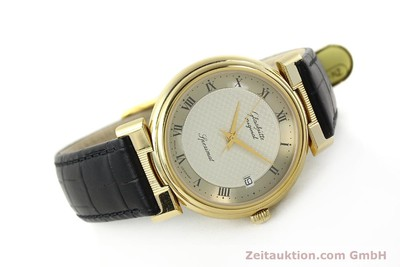 GLASHÜTTE SPEZIMAT GOLD-PLATED AUTOMATIC KAL. 10-30 [142623]