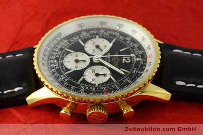 BREITLING NAVITIMER CHRONOGRAPH GOLD-PLATED MANUAL WINDING KAL. LWO 1873 LP: 6680EUR [142643]