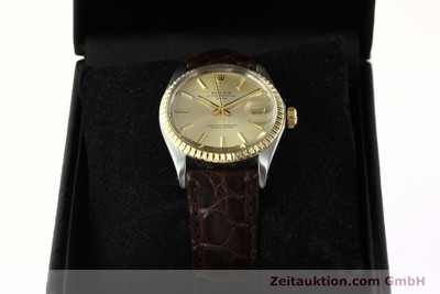 ROLEX DATE STEEL / GOLD AUTOMATIC KAL. 1570 [142645]