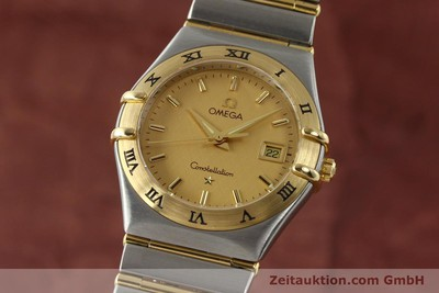 OMEGA CONSTELLATION STEEL / GOLD QUARTZ KAL. 1424 ETA 25646 LP: 3960EUR [142664]