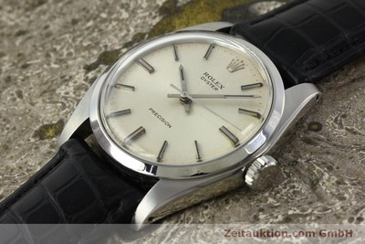 ROLEX PRECISION STEEL MANUAL WINDING KAL. 1225 LP: 4300EUR [142665]