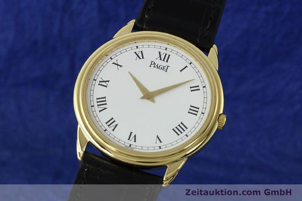 PIAGET SKELETON 18 CT GOLD MANUAL WINDING KAL. 9P2  [142667]