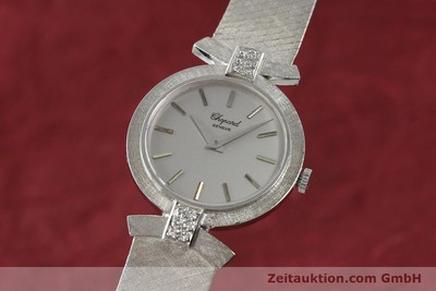 CHOPARD 18 CT WHITE GOLD MANUAL WINDING KAL. ETA 2512 [142668]