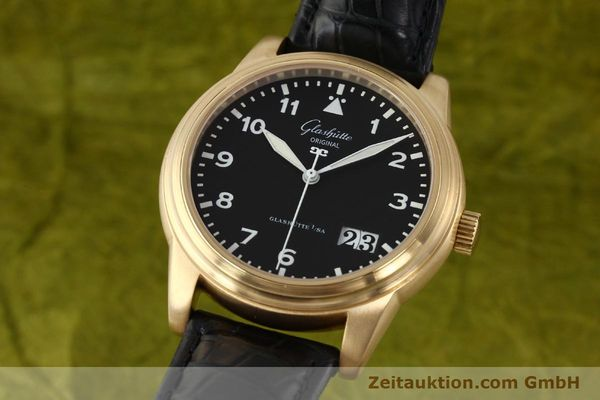 GLASHÜTTE NAVIGATOR 18 CT RED GOLD AUTOMATIC KAL. 39-41  [142670]