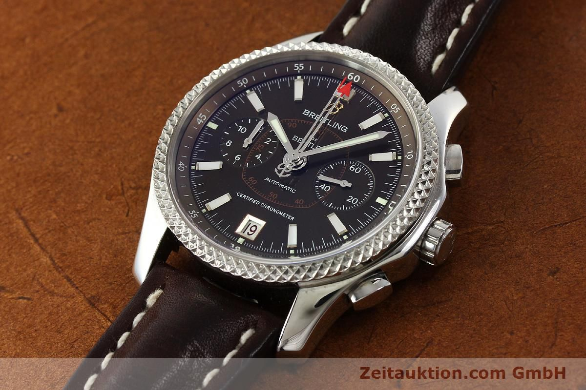 limited i chronograph breitling watch lemans mens bentley white edition