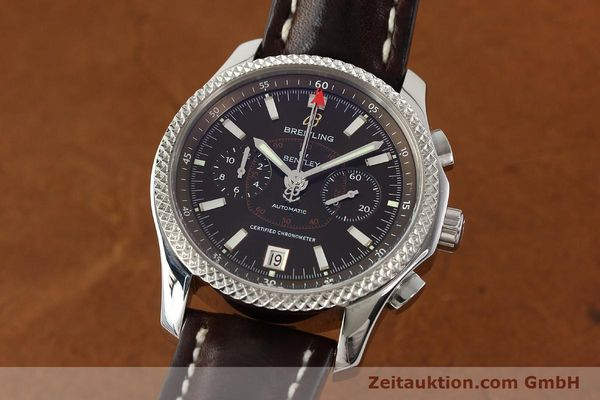 BREITLING FOR BENTLEY MARK VI STAHL / PLATIN CHRONOGRAPH REF P26362 VP: 9390,- Euro [142673]