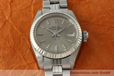 ROLEX LADY DATE ACIER / OR BLANC AUTOMATIQUE KAL. 2030 LP: 6000EUR [142679]