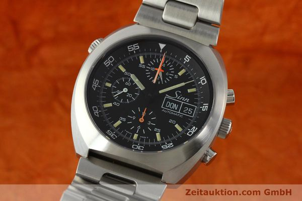 SINN D1 MISSION CHRONOGRAPH STEEL AUTOMATIC KAL. LEMANIA 5100  [142681]