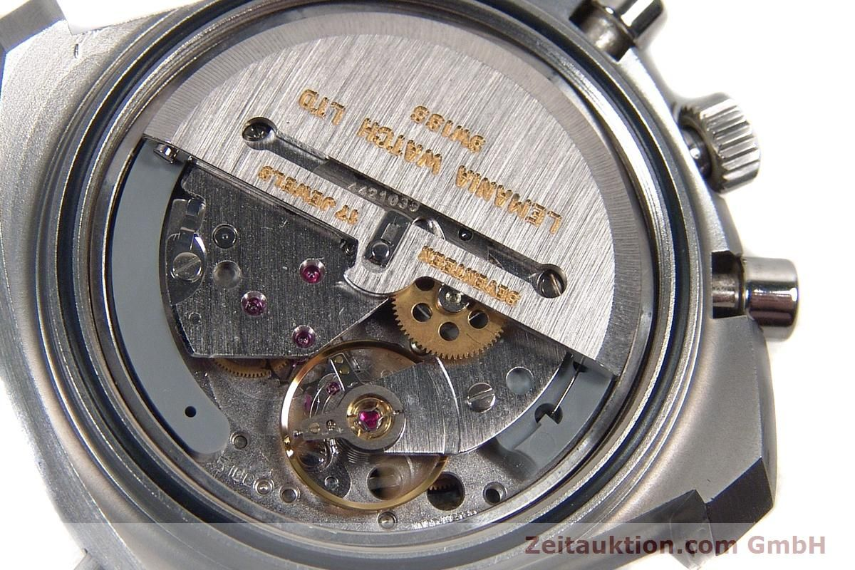 Sinn D1 Mission chronograph steel automatic Kal. Lemania ...