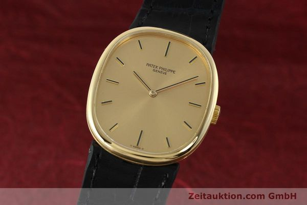 PATEK PHILIPPE 18K (0,750) GOLD ELLIPSE D´OR HANDAUFZUG 3548 MEDIUM VP: 19930,-Euro [142683]