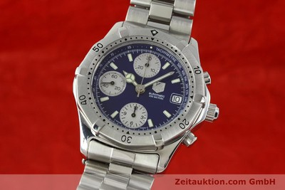 TAG HEUER AUTOMATIK CHRONOGRAPH PROFESSIONAL CK2111 STAHL VP: 3500,- EURO [142685]
