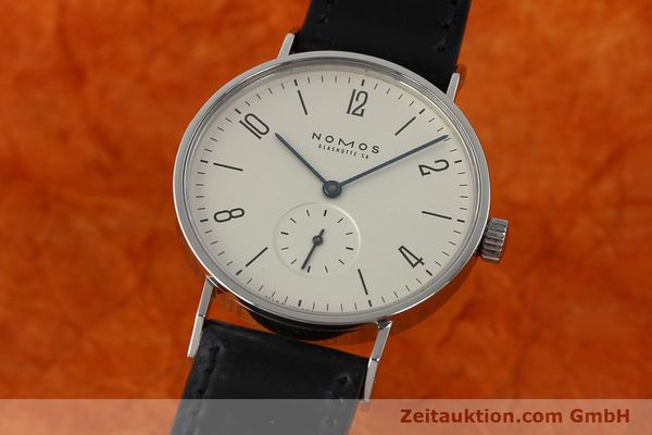 NOMOS TANGENTE STEEL MANUAL WINDING KAL. ETA 7001 LP: 1320EUR [142687]