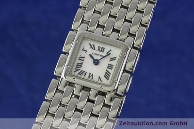 CARTIER PANTHERE RUBAN STEEL QUARTZ KAL. 201 LP: 3500EUR [142689]
