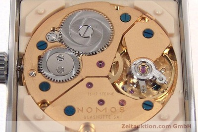 NOMOS TETRA STEEL MANUAL WINDING KAL. ETA 7001 LP: 1440EUR [142697]
