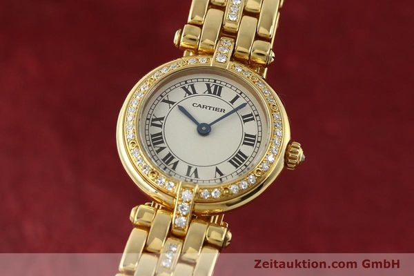 CARTIER PANTHERE ORO 18 CT QUARZO KAL. 157 LP: 21900EUR [142716]