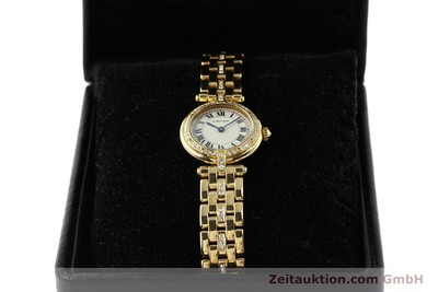 CARTIER PANTHERE 18 CT GOLD QUARTZ KAL. 157 LP: 21900EUR [142716]