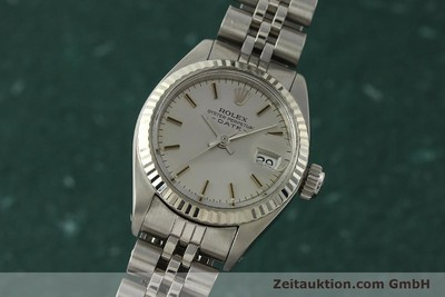 ROLEX LADY DATE ACIER / OR BLANC AUTOMATIQUE KAL. 2030 LP: 6000EUR [142722]