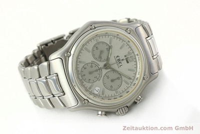 EBEL 1911 CHRONOGRAPH STEEL AUTOMATIC KAL. 137 [142731]