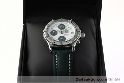 TAG HEUER AUTOMATIK CHRONOGRAPH PROFESSIONAL CE2118 STAHL VP: 3500,- EURO [142735]