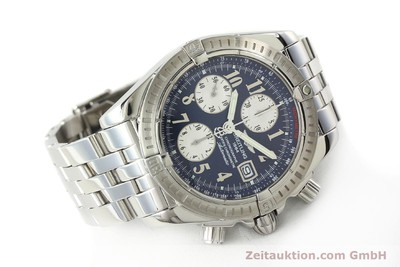 BREITLING EVOLUTION CHRONOGRAPHE ACIER AUTOMATIQUE KAL. B13 ETA 7750 LP: 7500EUR [142739]