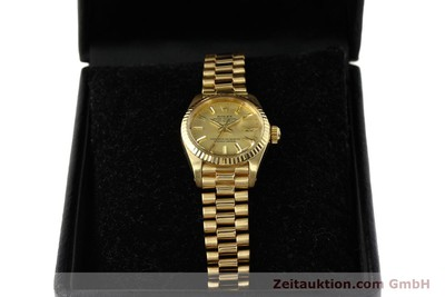 ROLEX LADY DATEJUST OR 18 CT AUTOMATIQUE KAL. 2030 LP: 20600EUR [142742]