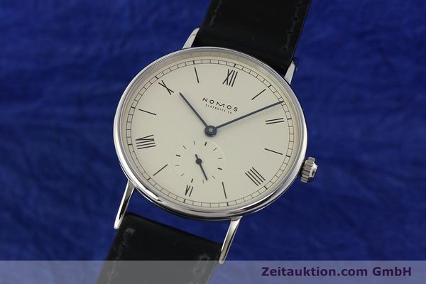 NOMOS LUDWIG STEEL MANUAL WINDING KAL. ETA 7001 LP: 1460EUR [142751]
