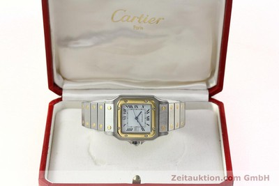 CARTIER SANTOS STEEL / GOLD AUTOMATIC KAL. ETA 2671 LP: 7100EUR [142753]