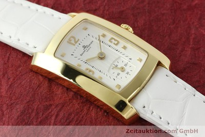BAUME & MERCIER HAMPTON 18 CT GOLD QUARTZ KAL. BM10163 ETA 980.163 [142761]
