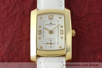 BAUME & MERCIER HAMPTON OR 18 CT QUARTZ KAL. BM10163 ETA 980.163 [142761]